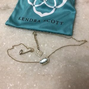Kendra necklace in light blue